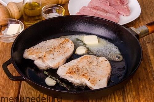 Рецепт стейк из индейки на сковороде рецепт пошагово